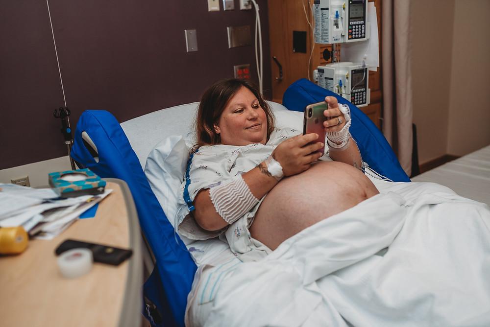 Birth photography | Medford, Oregon | Asante Hospital | Caesarean Birth