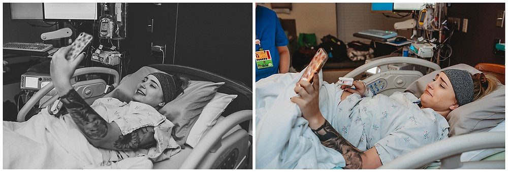 Birth photography | Medford, Oregon | Asante Hospital