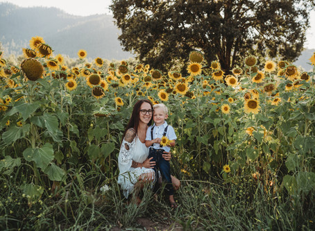 Medford Oregon | Sunflower Session
