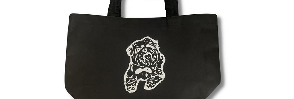 Negative Print Pet Tote Bag - Custom