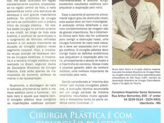 Cirurgia estética e funcional do nariz