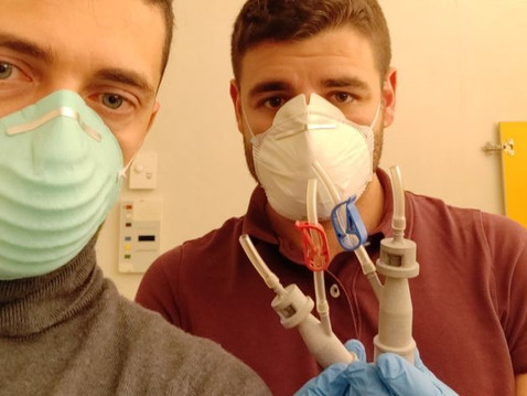 Impressão 3D está sendo utilizada para produzir equipamentos médicos no combate a COVID-19
