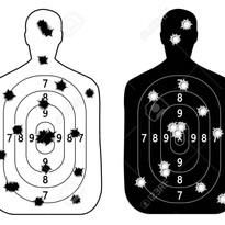 75073056-shooting-range-gun-target-with-