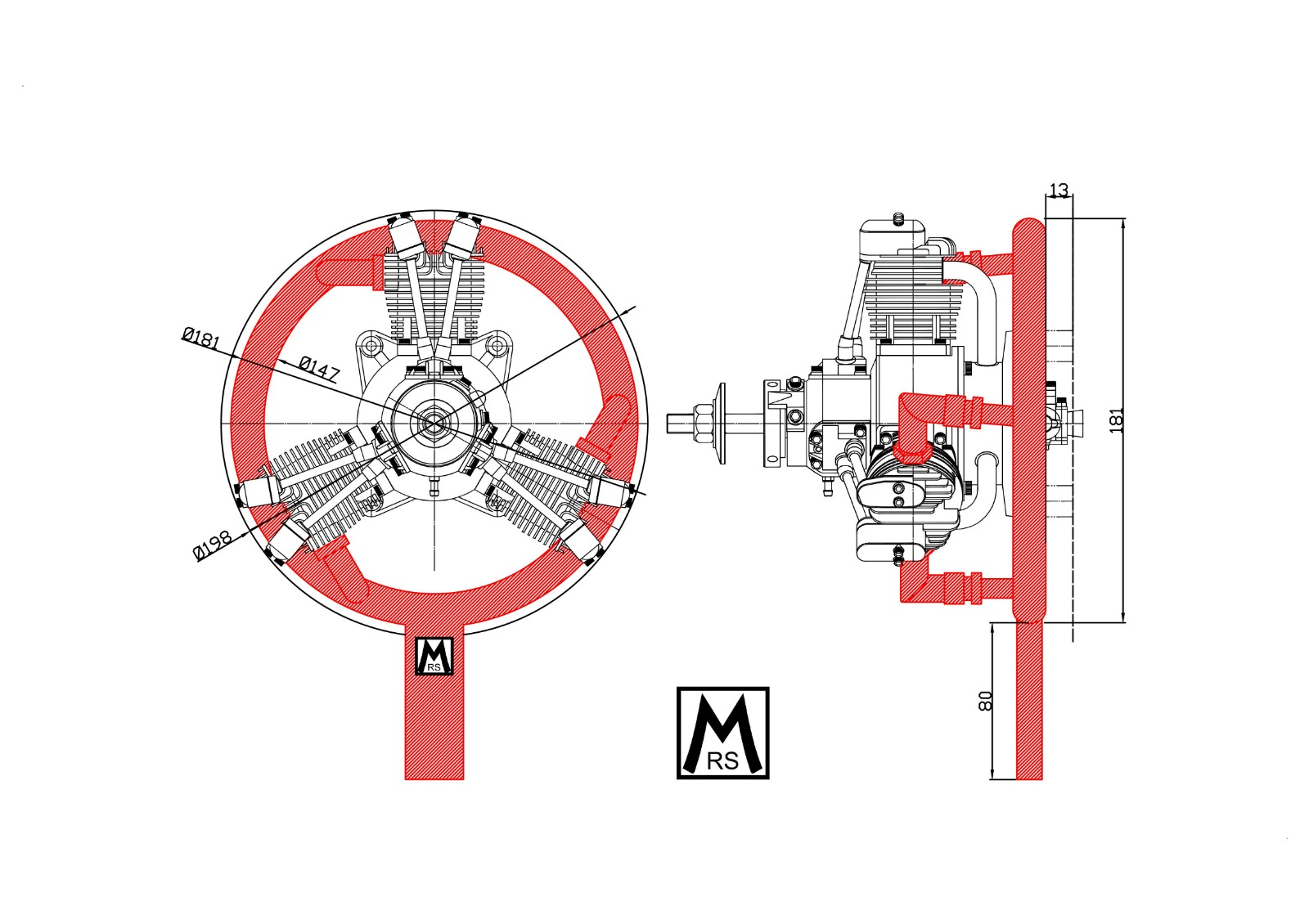 Zeichnung MRS 33