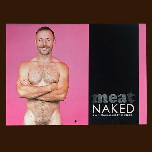meat 2016 naked caledar