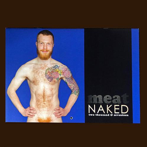 meat 2017 naked calendar