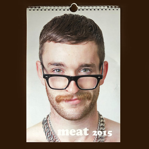 meat faces 2015 calendar