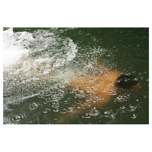 """Summer at Hackney Marshes, Swim"" Colour Print"