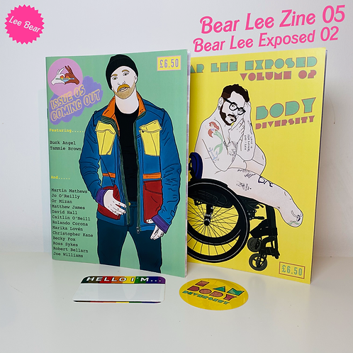 Issue 05 - Coming Out Stories  / Exposed Vol 02 Zine Pack