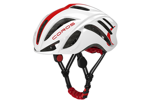 Coros Frontier Smart Helmet - White Red