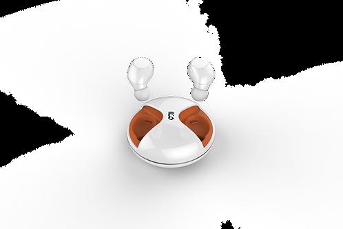Tempo - True Wireless Earbuds - Orange White