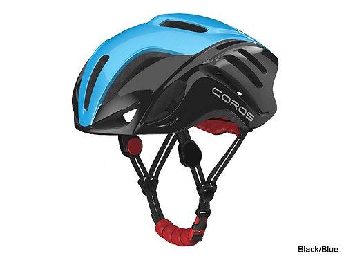 Coros Frontier Smart Helmet - Black Blue