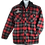 Thumbnail: LO Fleece Hooded Flannel Jacket