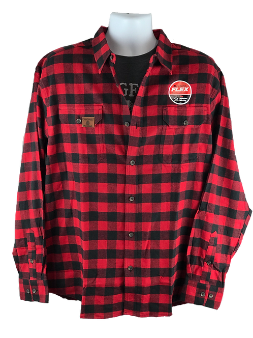 LO Relaxed Fit Flex Flannel Shirt