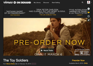 DON'T FORGET THE TOY SOLDIERS IS ALSO ON VIMEO ON DEMAND