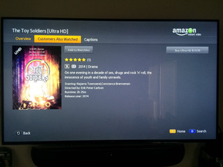 #THETOYSOLDIERS FIRST INDIE 4K ULTRA HD TITLE ON AMAZON 4K