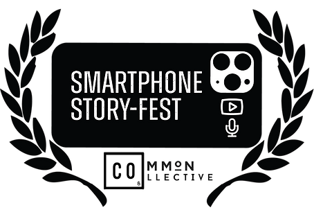 SmartPhone StoryFest Icon with Logos Fin