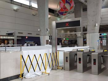 跟進東涌地鐵站第三條扶手電梯工程進度 Follow up with the third escalator at Tung Chung Station