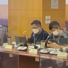 提出「要求徹底檢查東涌屋苑喉管以保障居民健康」的議程 Suggest the agenda of 'request for thorough checking of pipes of housing estates in Tung Chung to safeguard the health of residents' at district council meeting