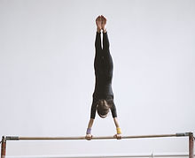 Gymnast on a Bar
