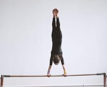 Gymnast on a Bar