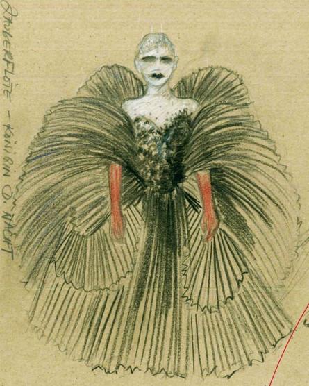 Königin der Nacht costume »Die Zauberföte«