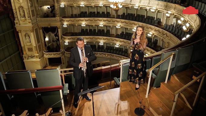 Semper:Donnerstag »Zu singen« with Robert Oberaigner (Clarinet) // Semperoper Dresden