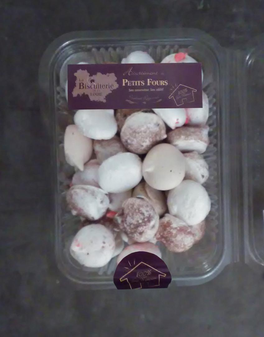 Boîte assortiment de meringues