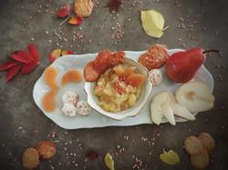 Compote pommes/poires