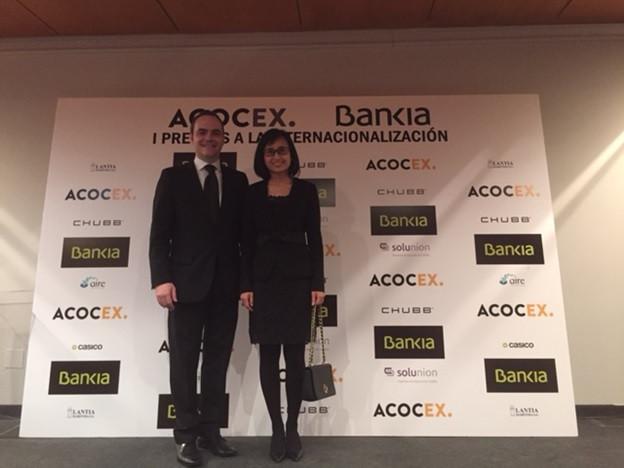 ACOCEX-BANKIA AWARDS TO THE INTERNATIONALIZATION