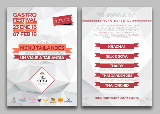Sorteo viaje a Tailandia durante el GastroFestival 2016