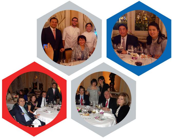 """""""Cena de las Estrellas"""" en el Hotel Ritz de Madrid"""