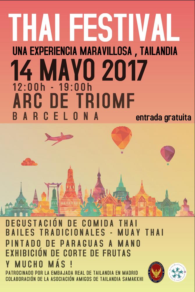THAI FESTIVAL EN BARCELONA