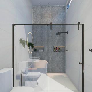 Banheiro Pé direito duplo