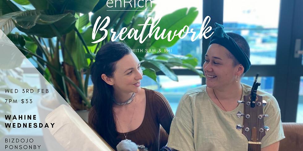 Wāhine Wednesday Breathwork with Sam & Rhi