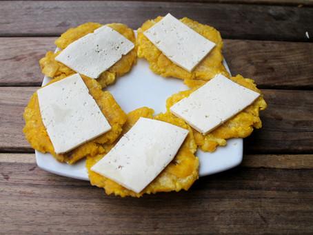 Patacón queso y melado