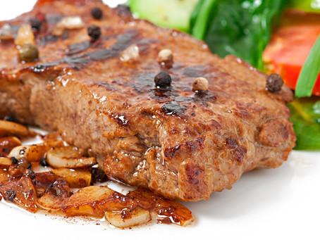 Postas de carne cartagenera