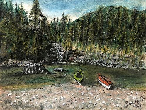 Myra Falls - Vancouver Island