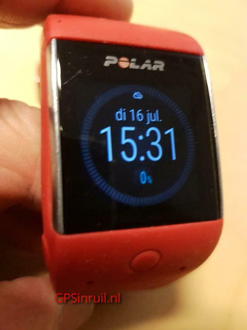 inruil - Polar M600 red (GPSinruil nr 325)