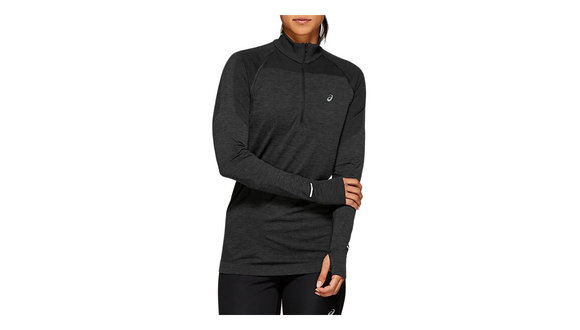 Asics Naadloze 1/2 zip Shirt met Lange Mouwen (Dames)