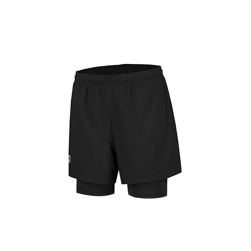 Rogelli Runningshort 2-in-1 Matrix (Heren)