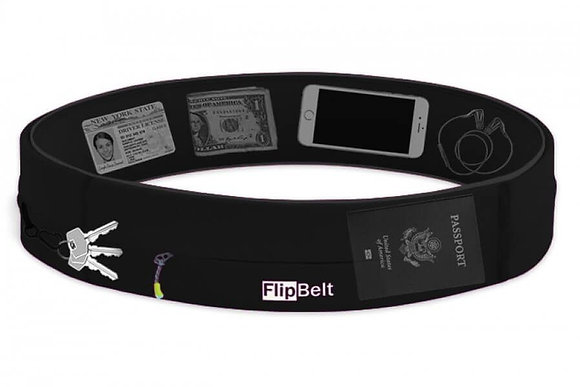 Flipbelt Zipper (Black)