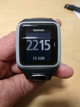 Inruil - Tomtom met GPS en polshartslag. (GPSinruil nr 9254)