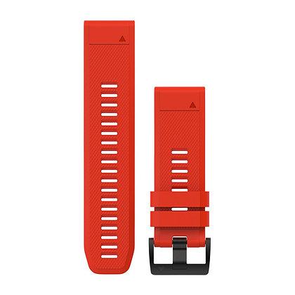 Garmin 26 Quickfit Siliconen Horlogeband Rood