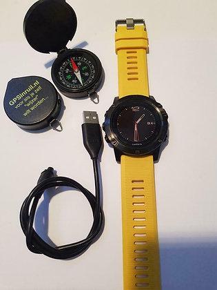 inruil - Garmin Fenix 5X Saffier (GPSinruil nr 8042)