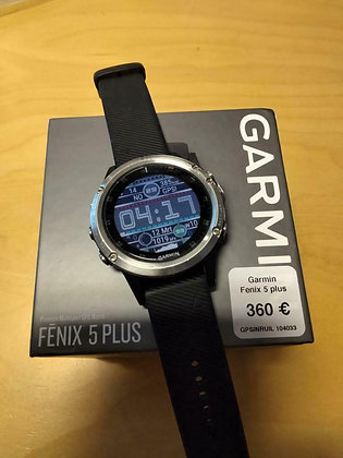 inruil - Garmin Fenix 5 plus (GPSinruil nr 104033)