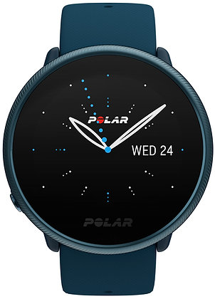 Polar Ignite2 Fitnesshorloge met GPS Blauw (Small)