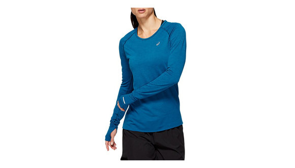 Asics Naadloze Shirt met Lange Mouwen (Dames)