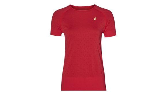Asics Slimfit Hardloopshirt met korte mouwen (Dames)
