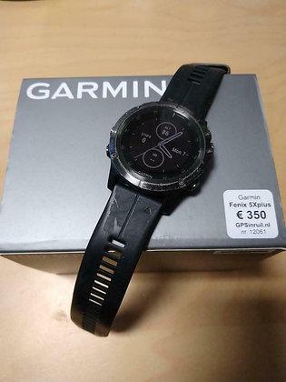 inruil - Flink gebruikte Garmin Fenix 5X plus. (GPSinruil nr 12062)